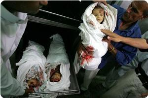 Hundreds of children were among the war victims during the Israeli aggressive war against the Gaza Strip in 2008/2009