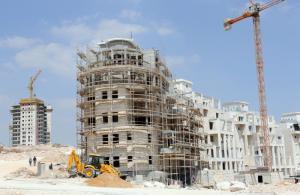 Israelis settlements under construction in Jerusalem
