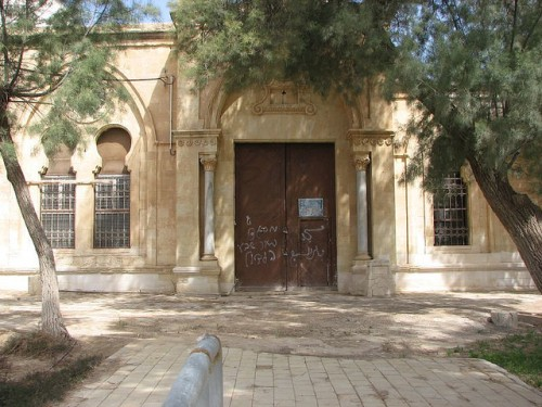 The Old Grand Mosque was shut forcefully and vandalized, and muslims prevented of performing prayers in it