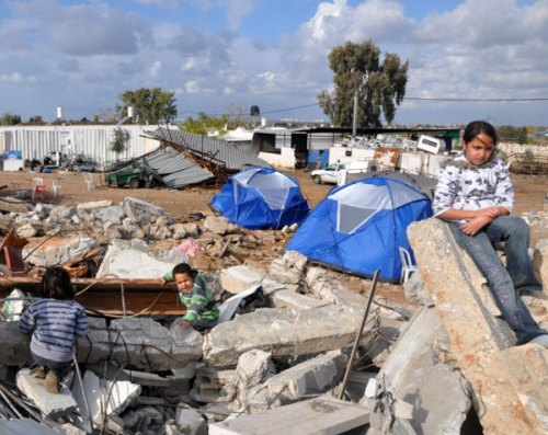 UN: some 660 demolished houses and more than 1100 Palestinian homeless in 2012