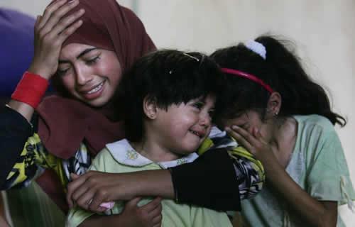 Bereaved Gaza children