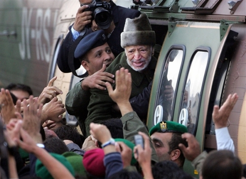 Aljazeera: late Palestinian leader Yasser Arafat who was killed by polonium